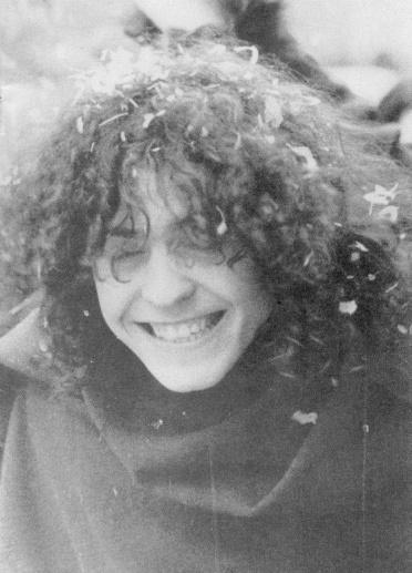 Marc w.paper in hair