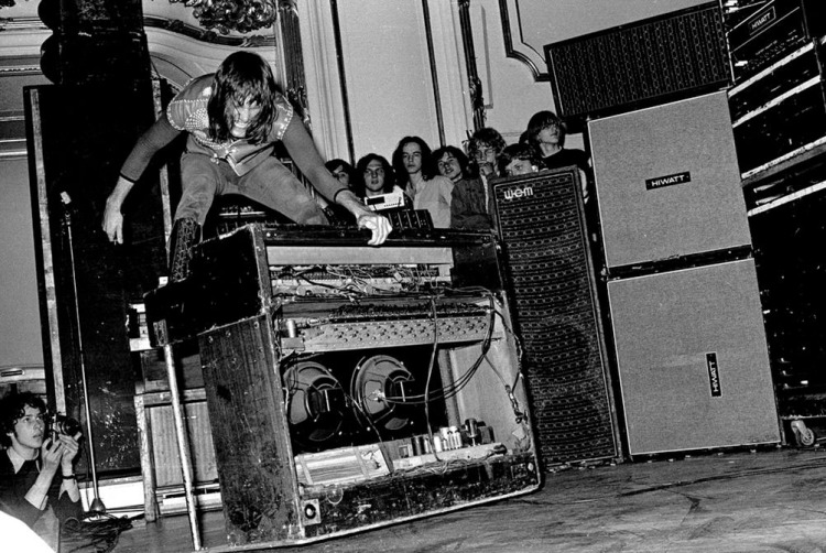 Keith and his Hammond organ