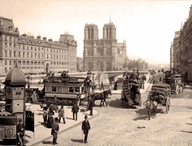Notre Dame early 1900s