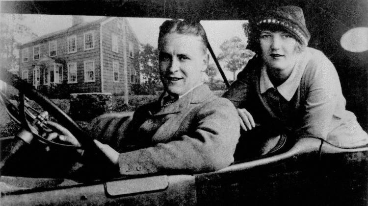 Fitzgeralds in a Car