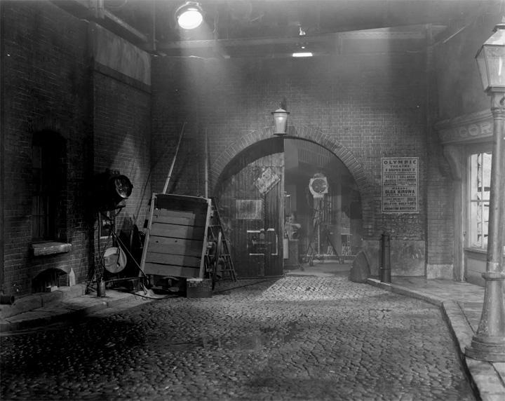 Old Film Set